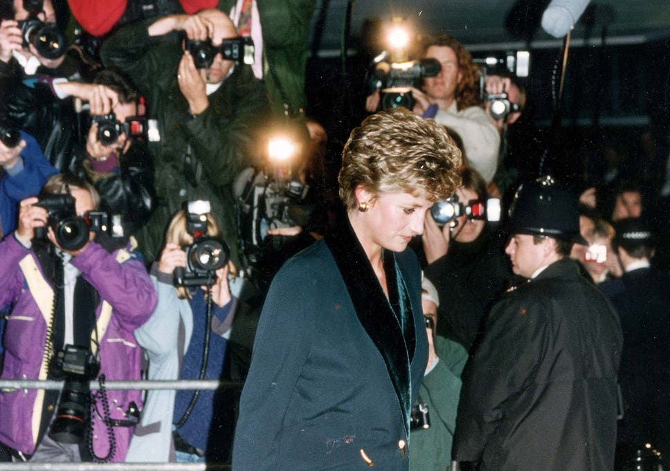 Princess Diana How The Tabloid Press Treated Her In The Run
