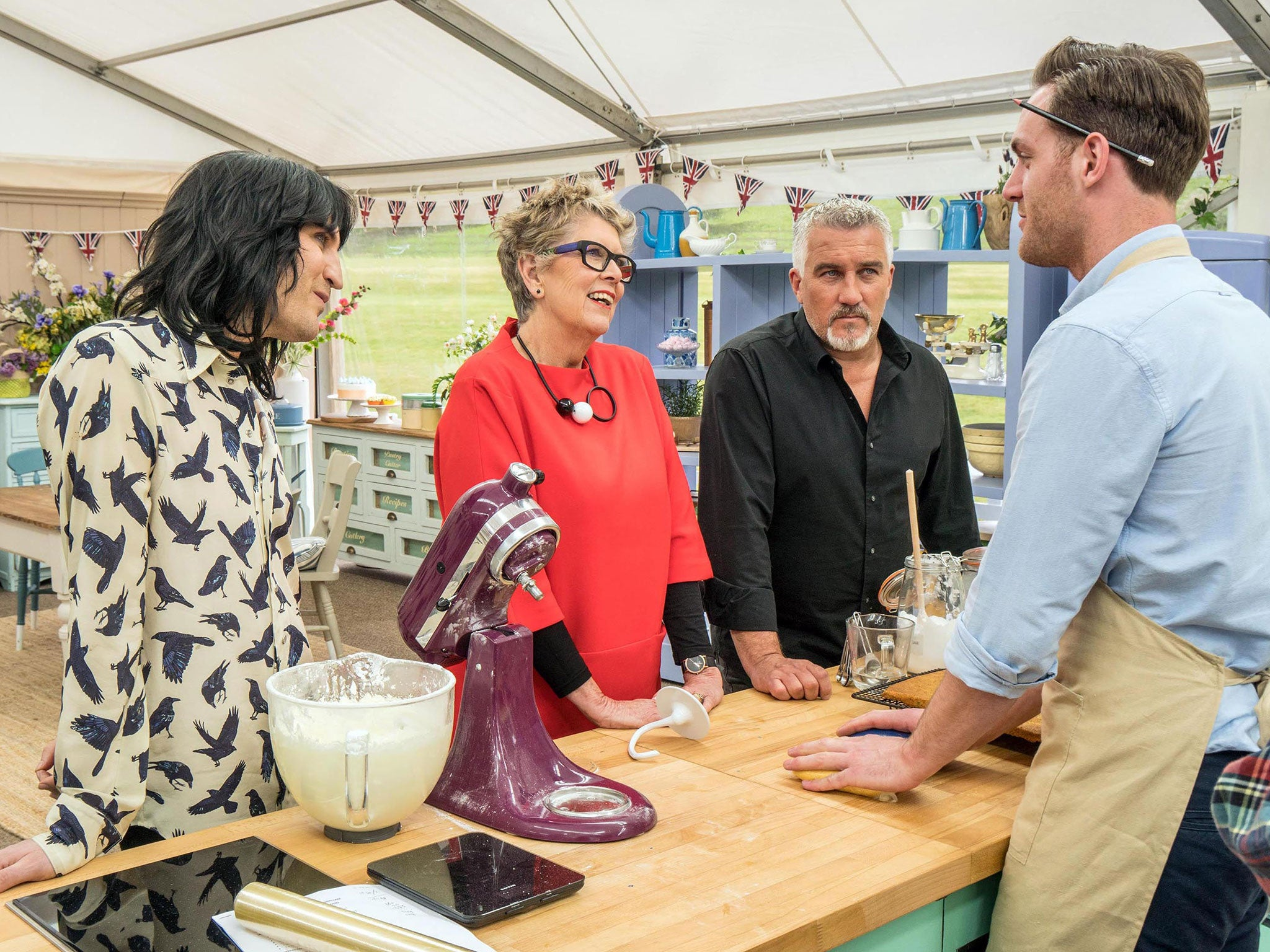 great british bake off 2017 viewing figures drop by. Black Bedroom Furniture Sets. Home Design Ideas