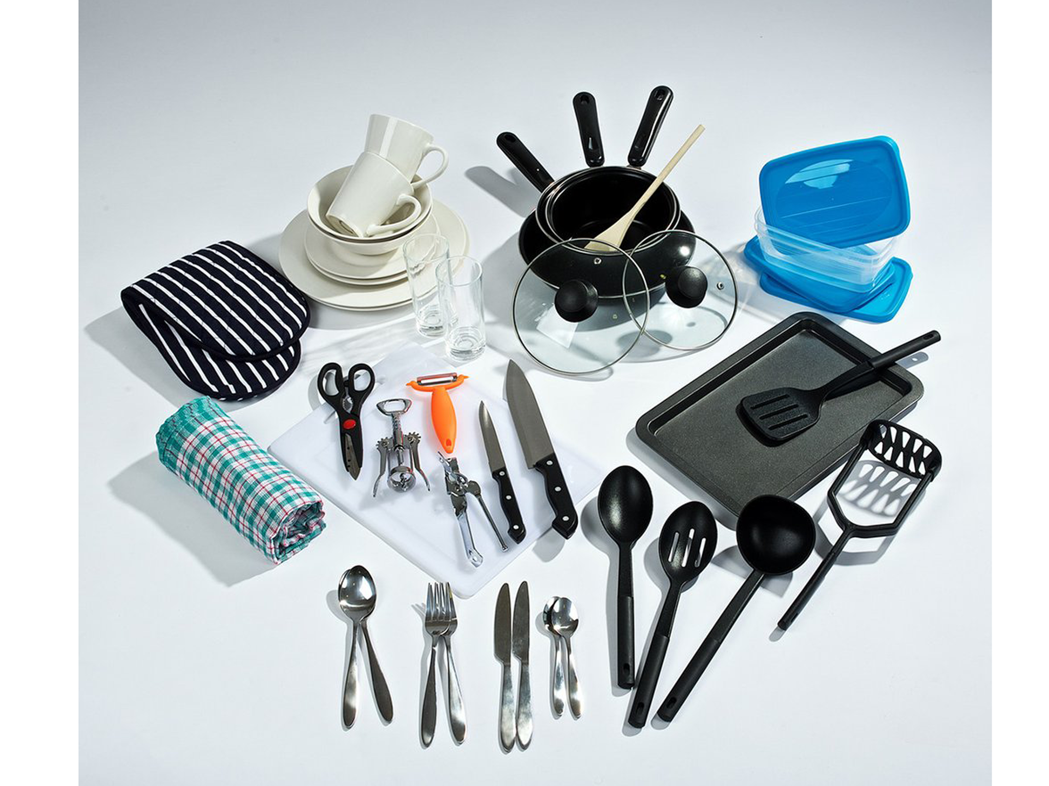 9 best kitchen starter sets for students the independent rh independent co uk Kitchen Sink Starter Kit Starter Kit IKEA