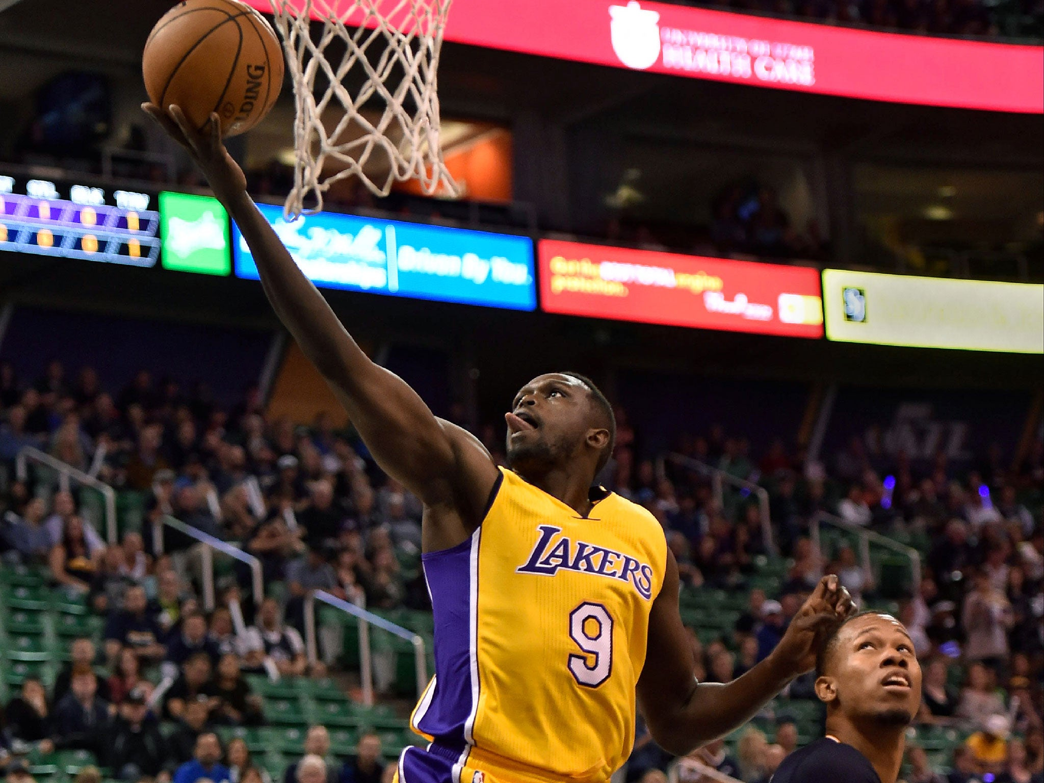 British NBA star Luol Deng laughs off suggestions of Crystal