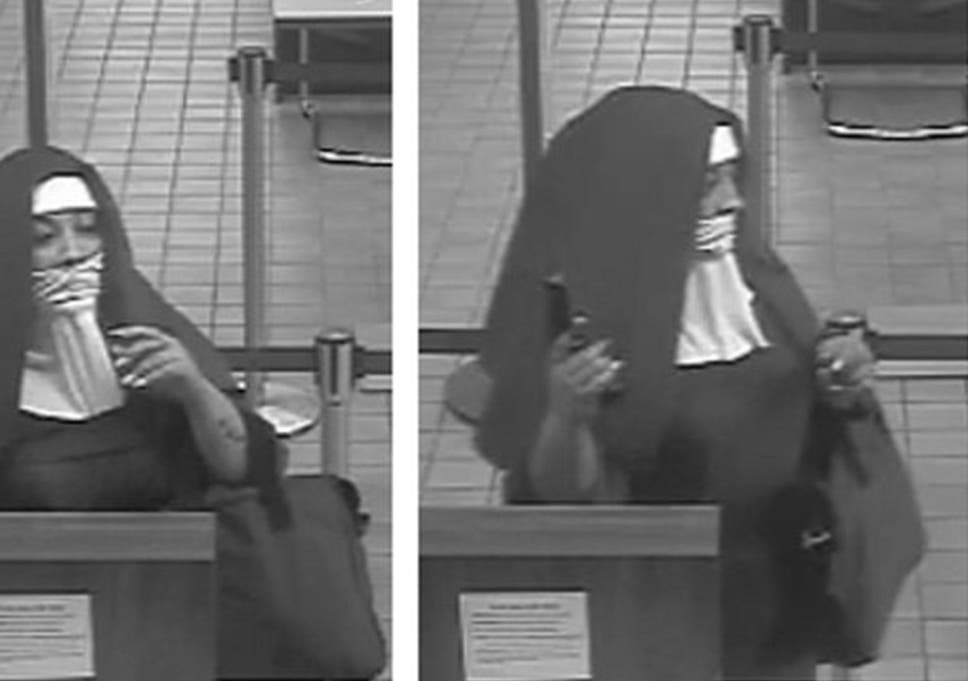 aefdce3aa9eed Two women who dressed as nuns to attempt bank heist are being hunted ...