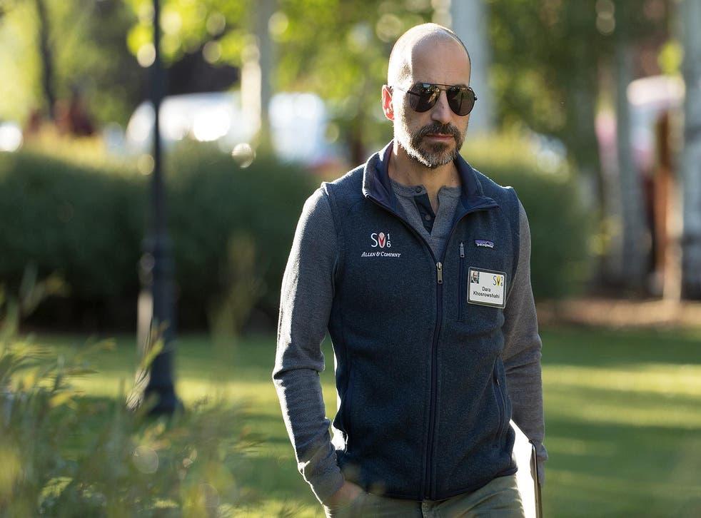 Uber chief Dara Khosrowshahi walked into a ride-hailing firm fighting court battles and regulators