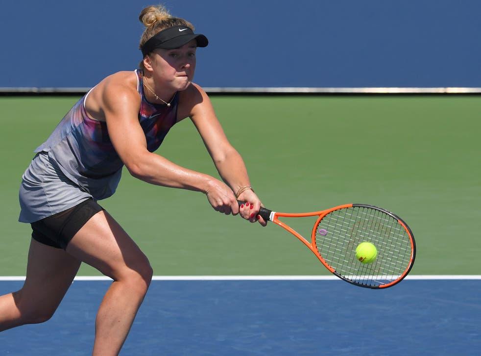 <p>Svitolina lost 2-6 6-4 6-1 to 35-year-old Kuznetsova</p>