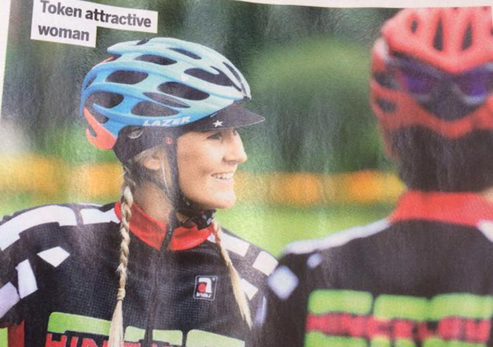 Cycling Weekly apologises after printing sexist picture caption that read   token attractive woman  next to female cyclist 713ec1b47