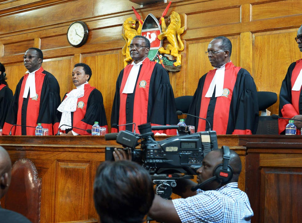 The Supreme Court in Nairobi ordered a new presidential election after cancelling the results of last month's election