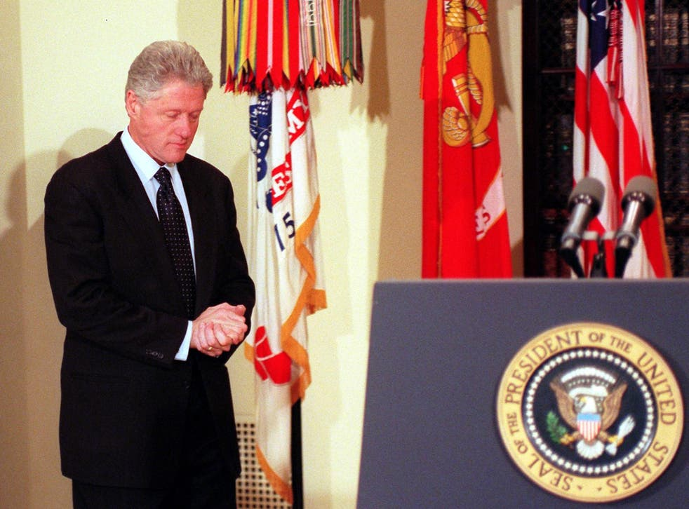 Bill Clinton was impeached during his second term, and then swiftly acquitted