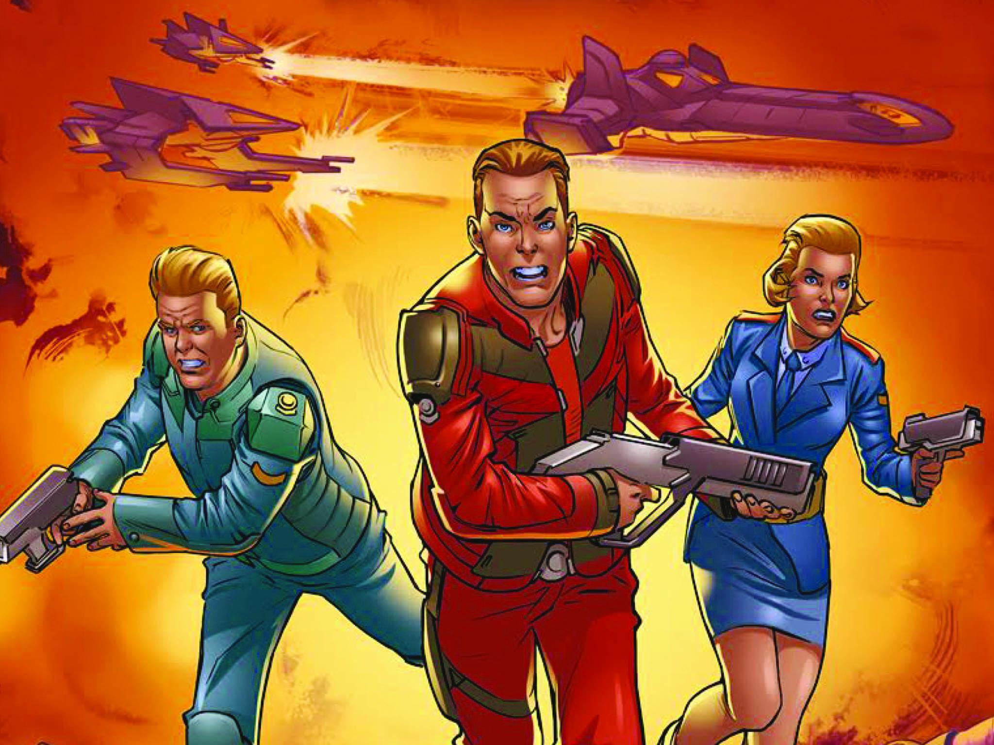 Dan Dare: How the British superhero survived to make the digital age
