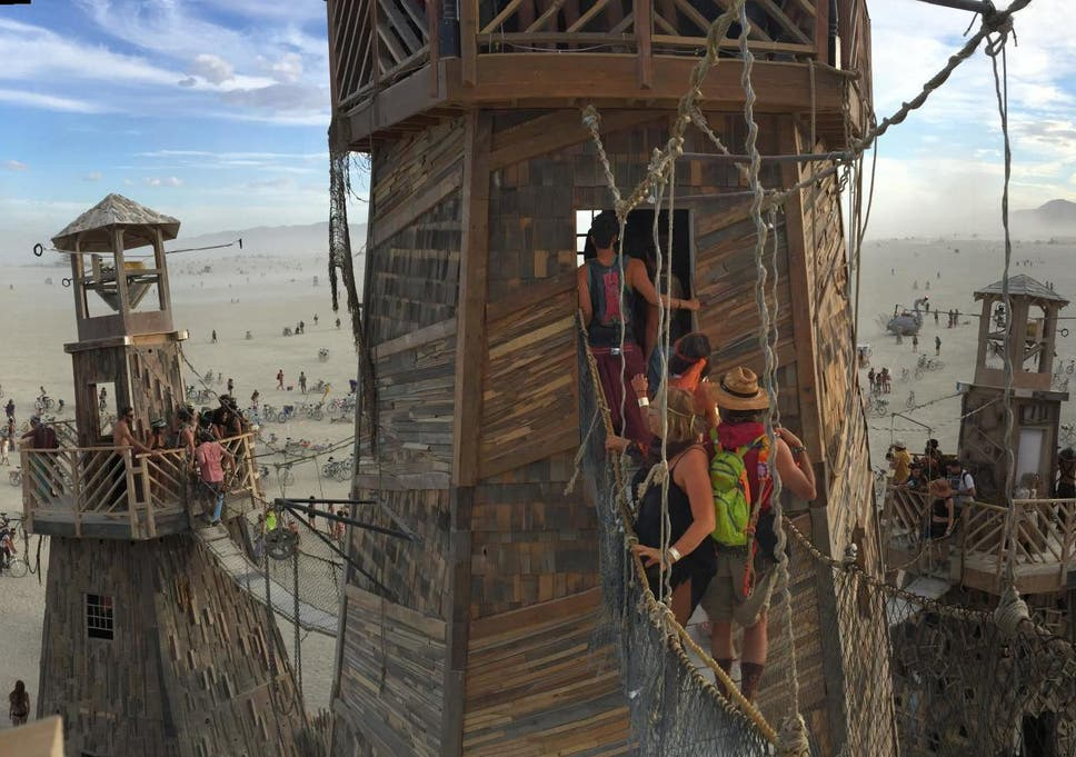 Burning Man is touted as a way for people to find themselves