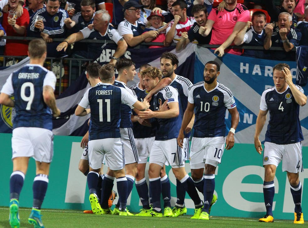 Scotland have kept their Russia 2018 hopes alive
