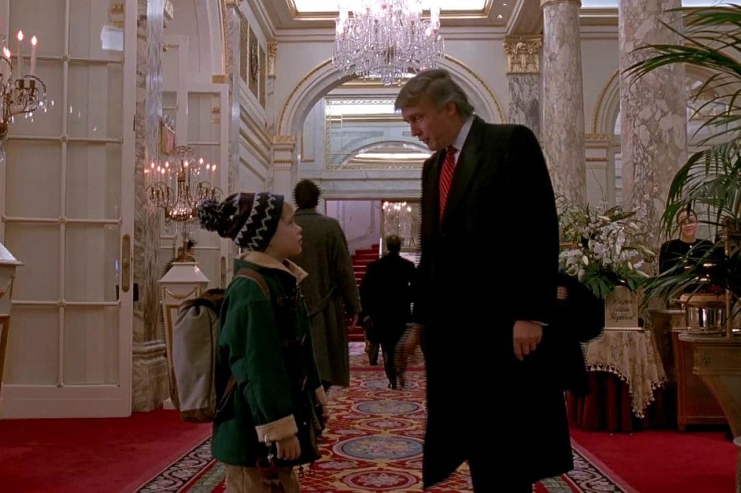 Home Alone  Lost In New York Trump