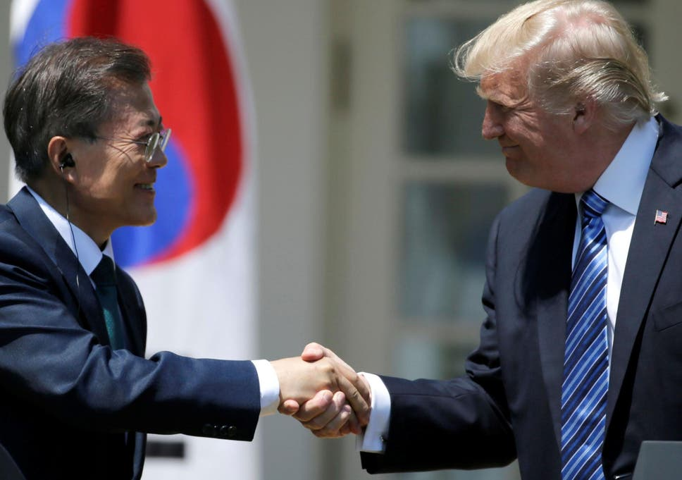 Trump agrees to sell South Korea arms worth billions of dollars as