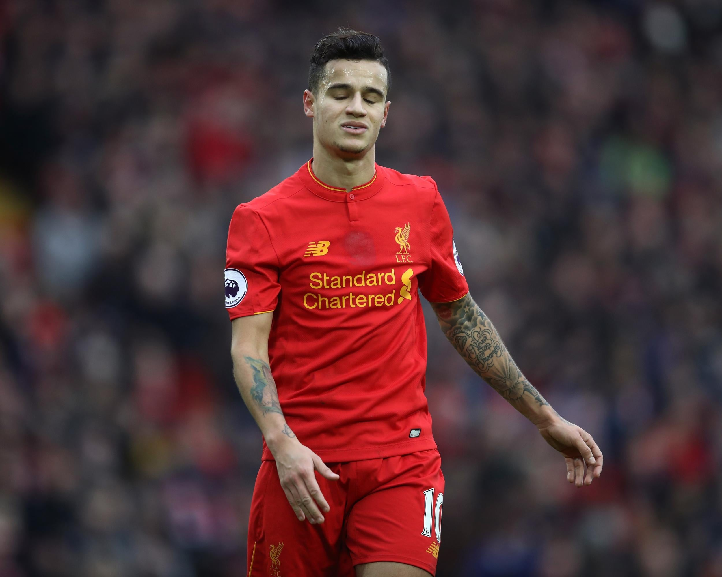 Liverpool should have sold Philippe Coutinho to Barcelona says