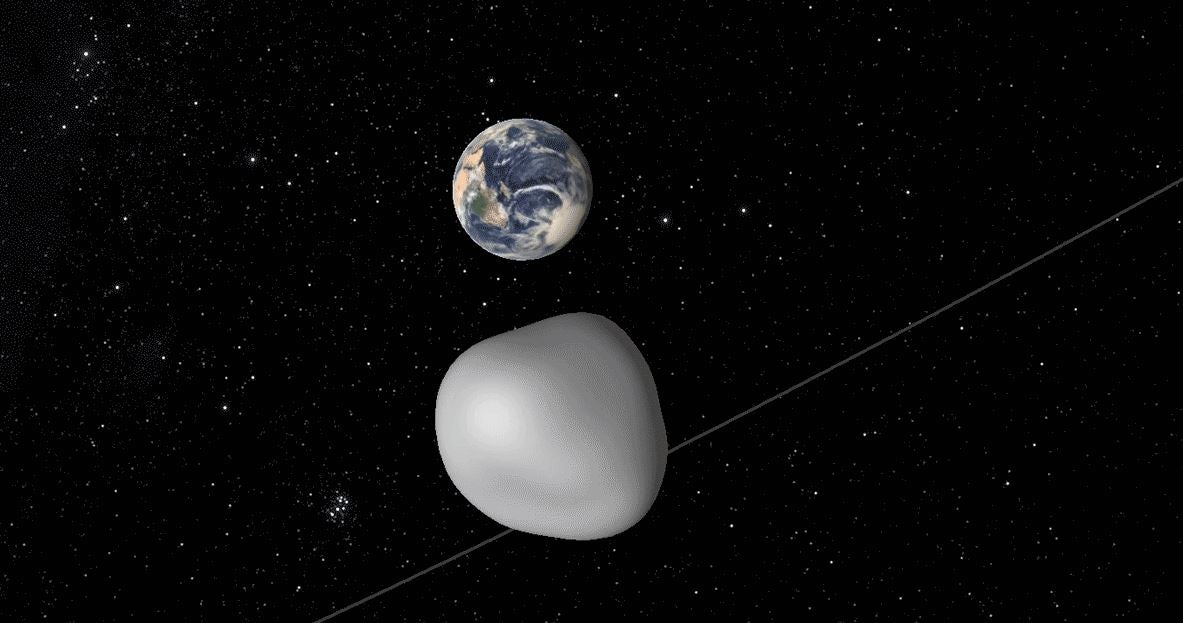 biggest asteroid in the solar system collided with earth - photo #43