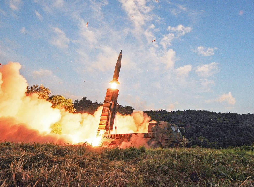 The 'Frankenmissile' would be vastly more powerful the Hyunmoo ballistic missiles that South Korea currently uses