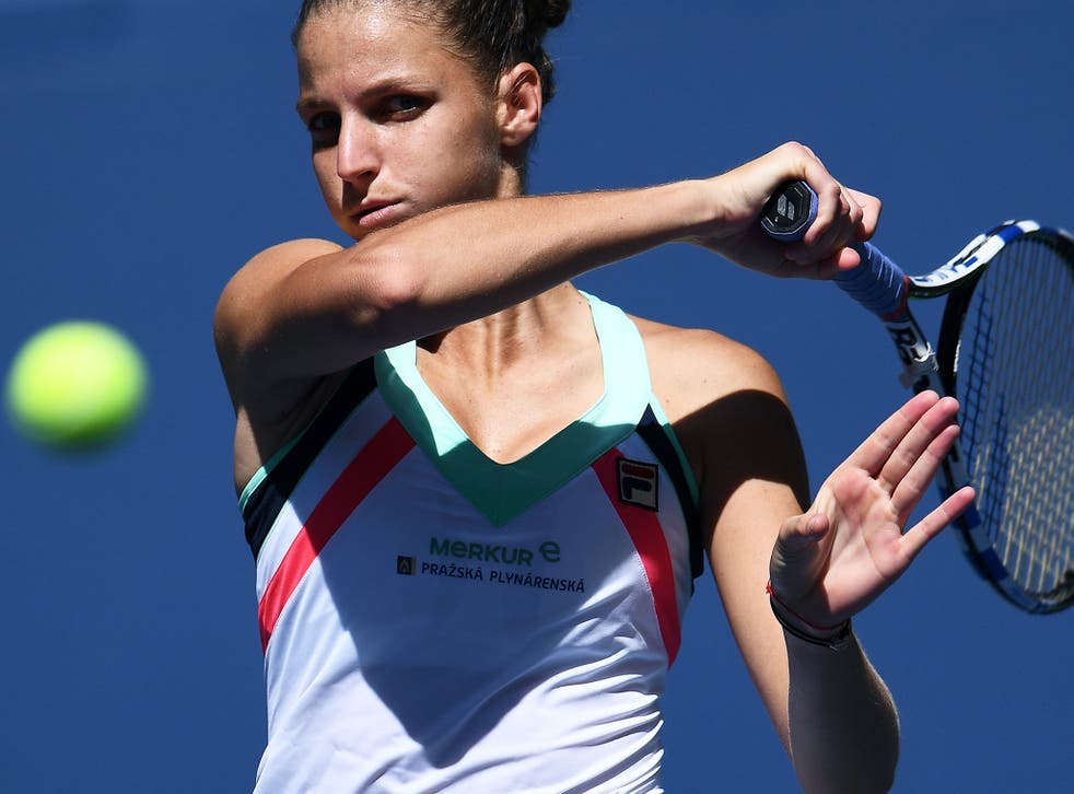 Pliskova is among the favourites to win this year's US Open