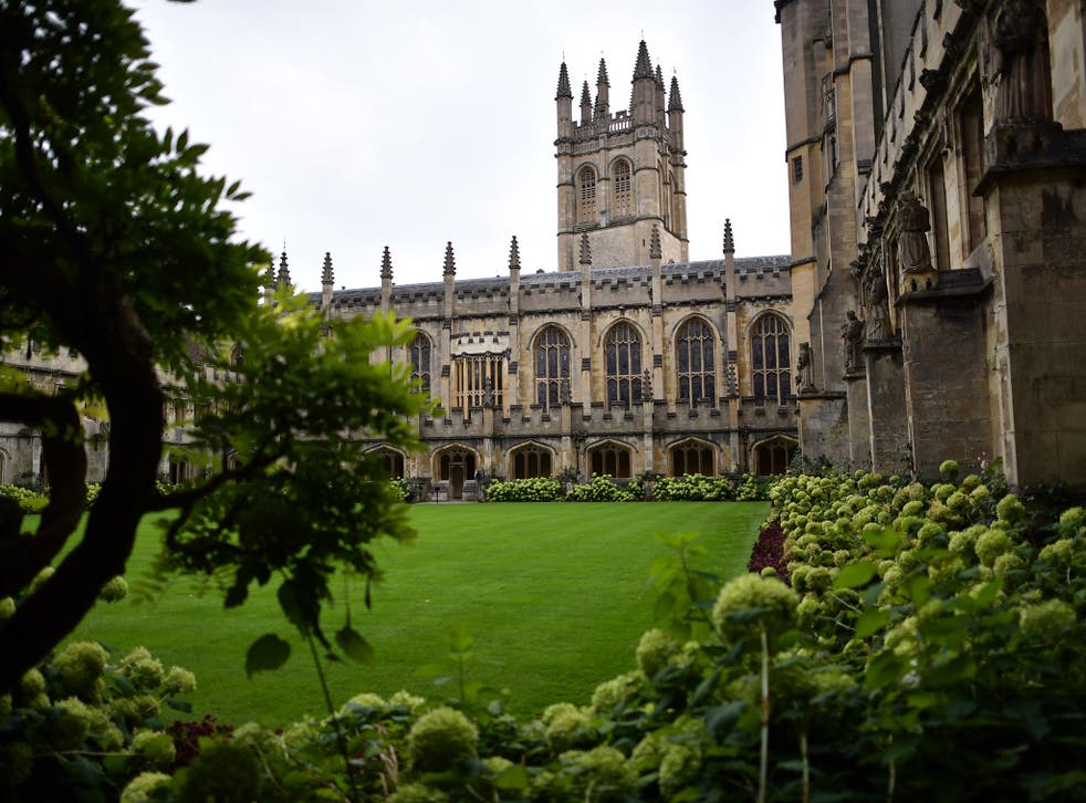 Black people are simply not associated with higher learning, and particularly elite institutions like Oxford
