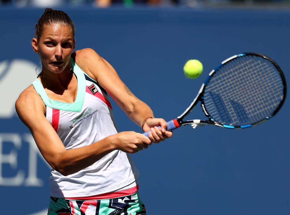Karolina Pliskova reached the last eight of the US Open but must reach the final to keep her world No 1 spot