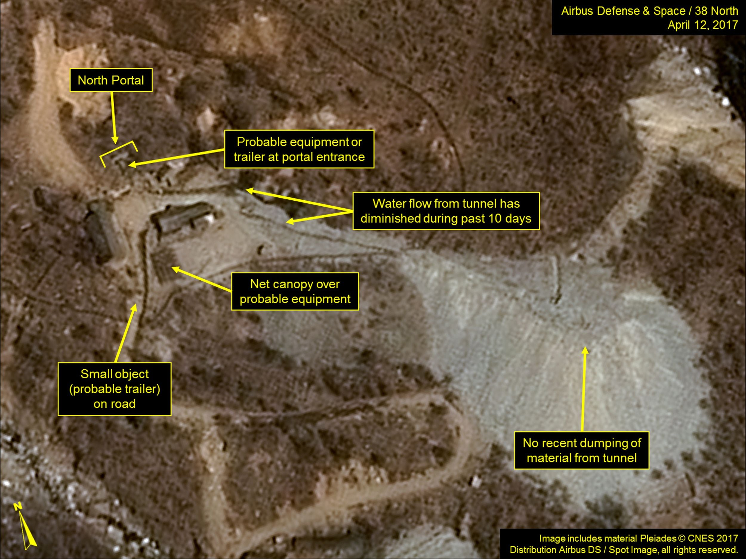 North Korea tunnel collapse could cause serious radiation leak