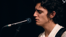 Belgian-Egyptian artist Tamino performs a Music Box session