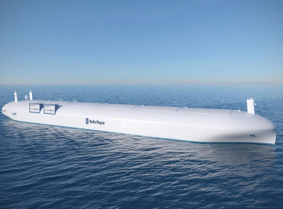 Rolls-Royce demonstrated the world's first remote-controlled, unmanned commercial ship earlier this year