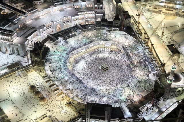 Over three million people undertake Hajj each year