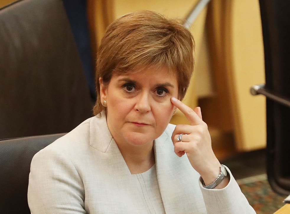 The First Minister, addressing the Scottish parliament, will fund research into the scheme championed by the Scottish Greens that would 'inform parliament's thinking for the future'