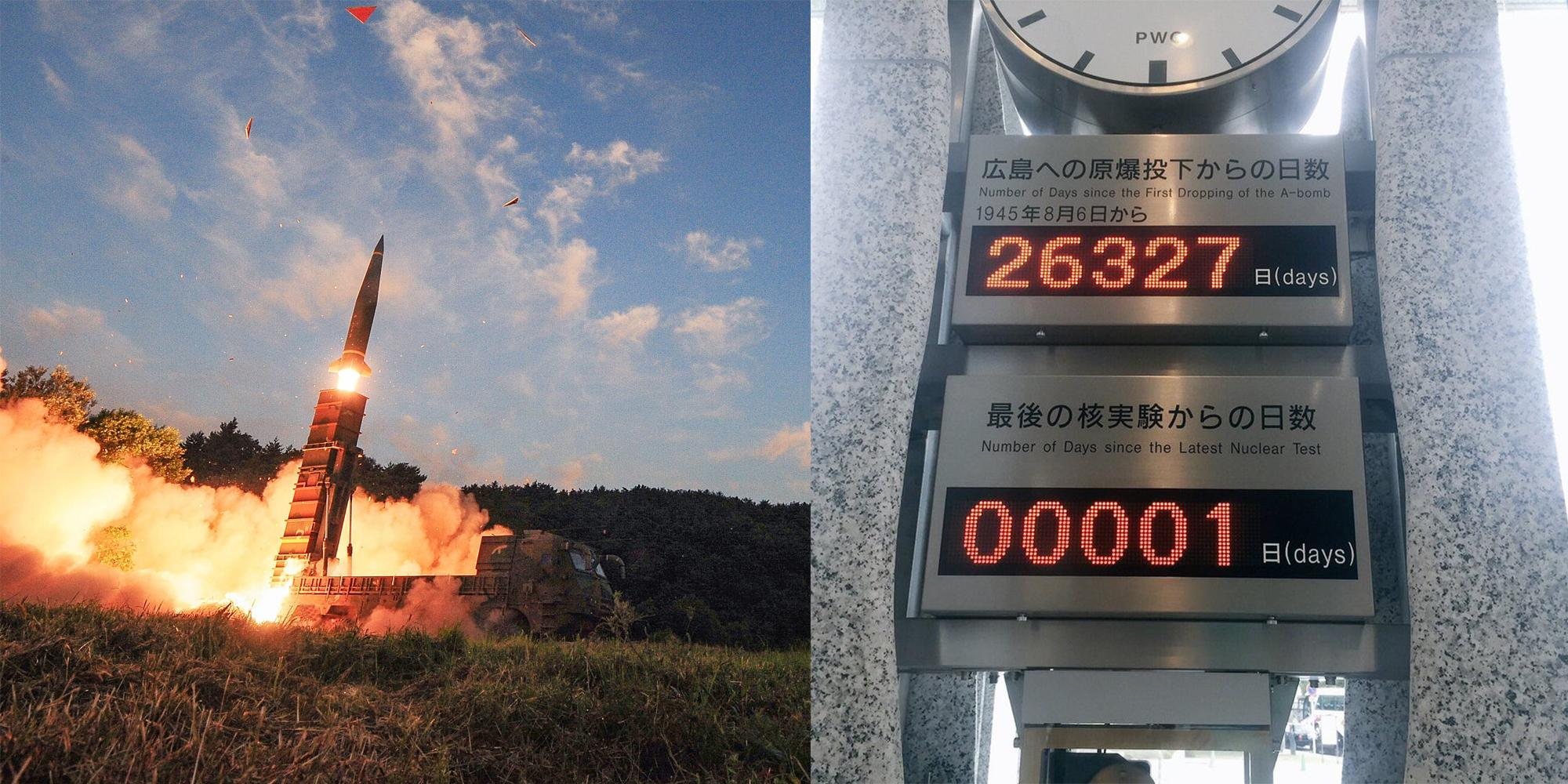 These two clocks in Hiroshima reveal the chilling reality of nuclear war