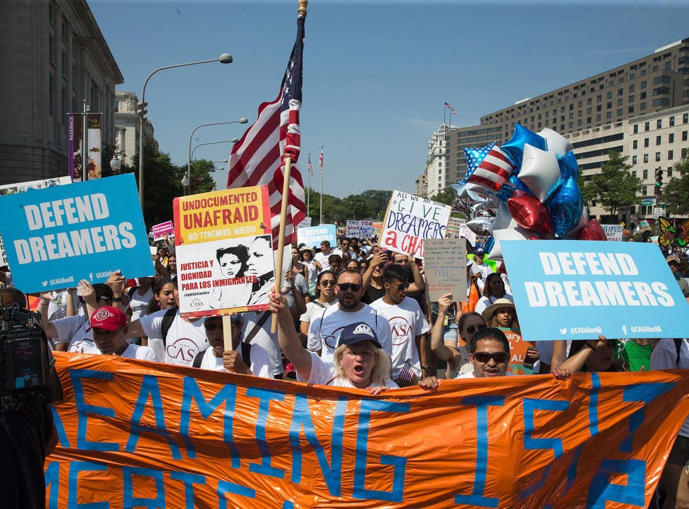 It is expected that Trump will end the Daca programme
