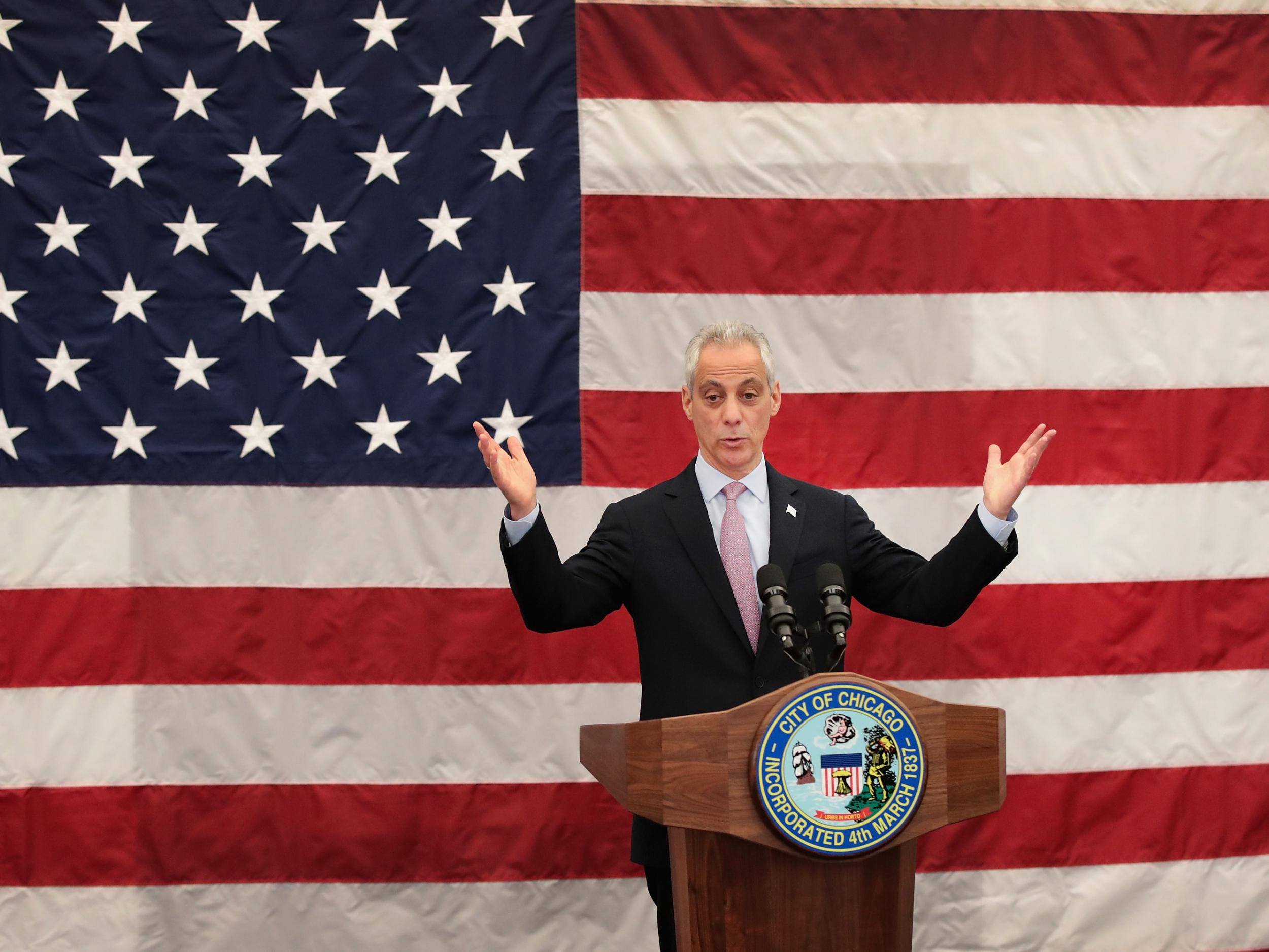 Chicago Mayor Rahm Emanuel will not seek re-election as city's gun violence crisis deepens
