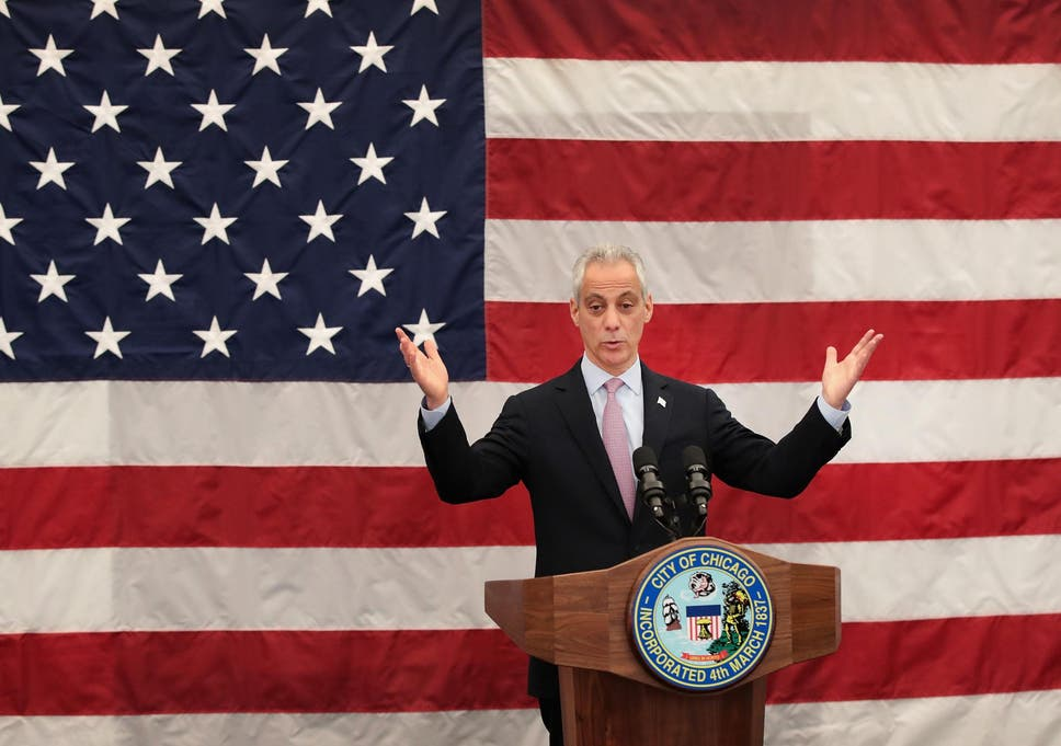 Chicago Mayor Rahm Emanuel will not seek re-election as city's gun