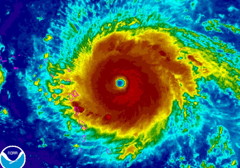 Hurricane Irma: Terrifying satellite images show strongest tropical on weather in marco island florida, hurricane over florida, hurricanes in florida,