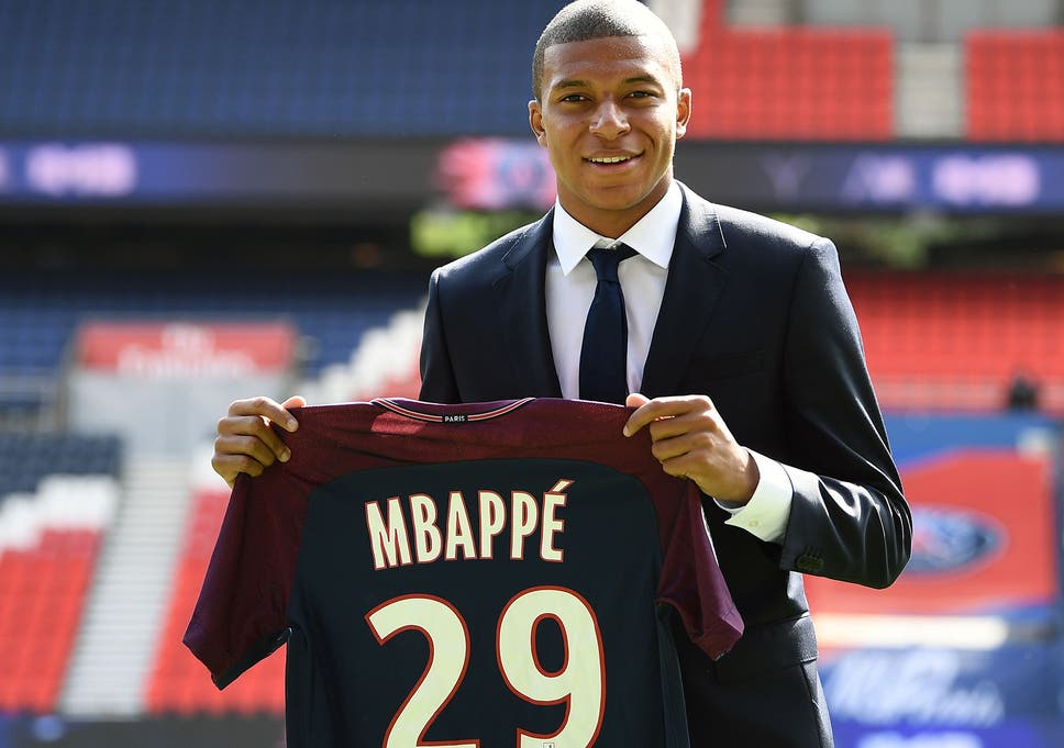 Mbappe Has Joined Psg From Monaco For M