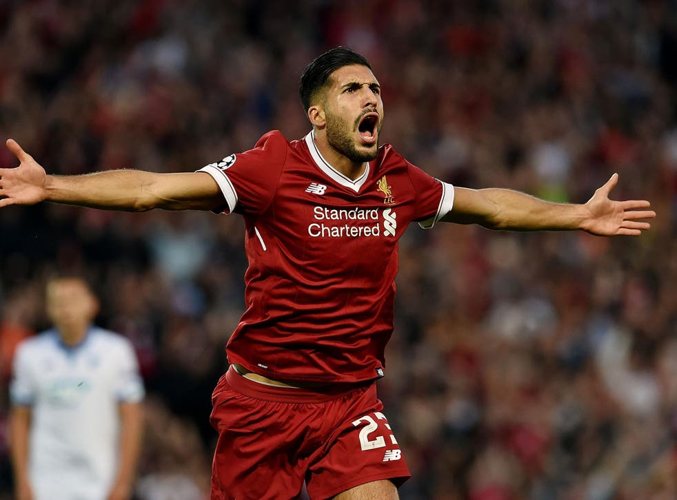 Emre Can has made an excellent start to the season with Liverpool