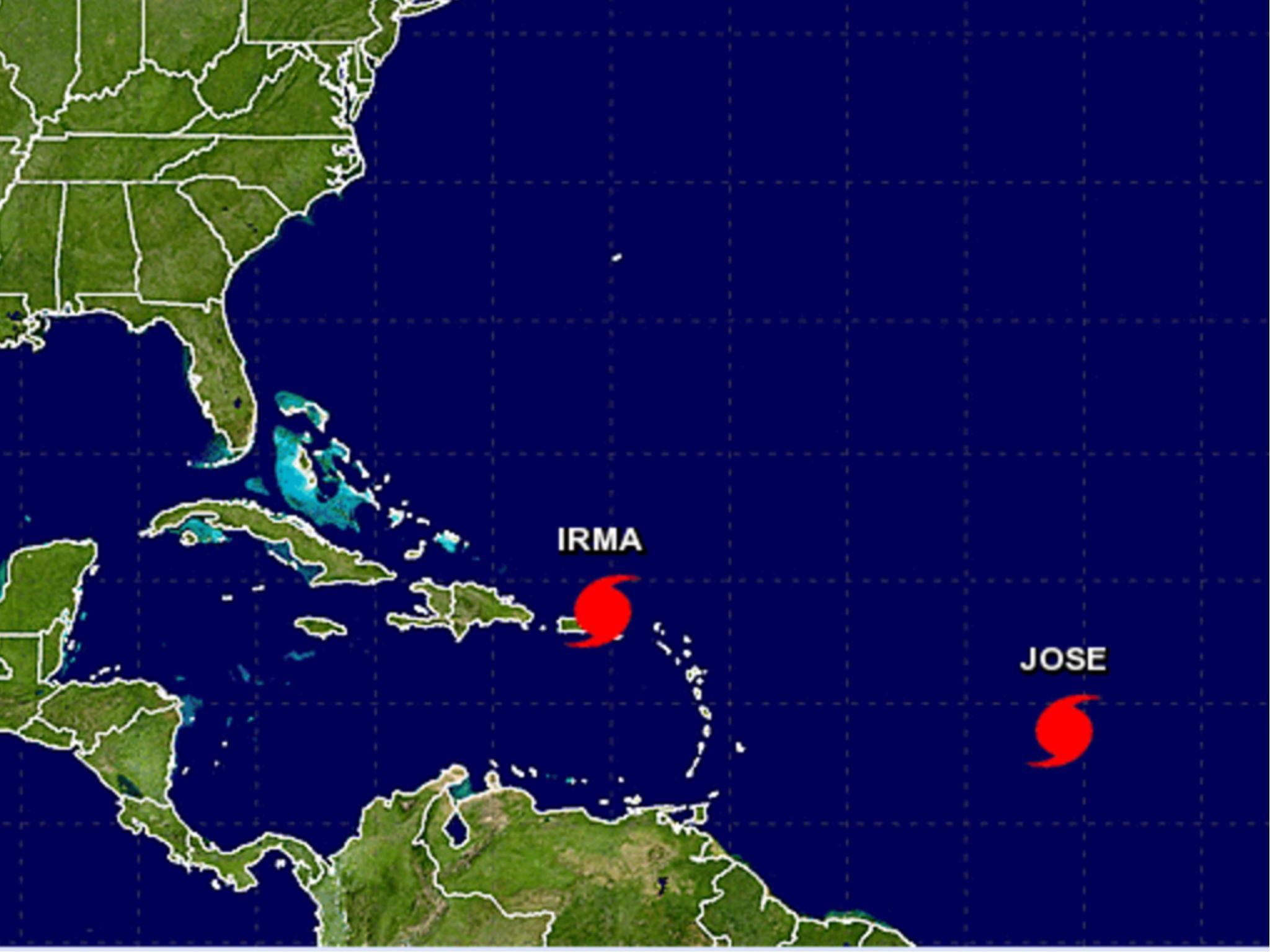 Jose becomes a hurricane heading for Caribbean on heels of Irma
