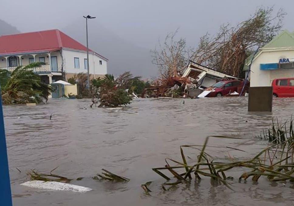 Hurricane Irma: 90% of buildings on Caribbean island Barbuda