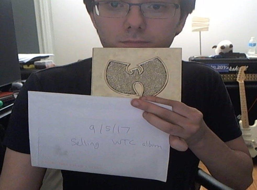 Martin Shrkreli appears to be selling the Wu-Tang Clan album on eBay