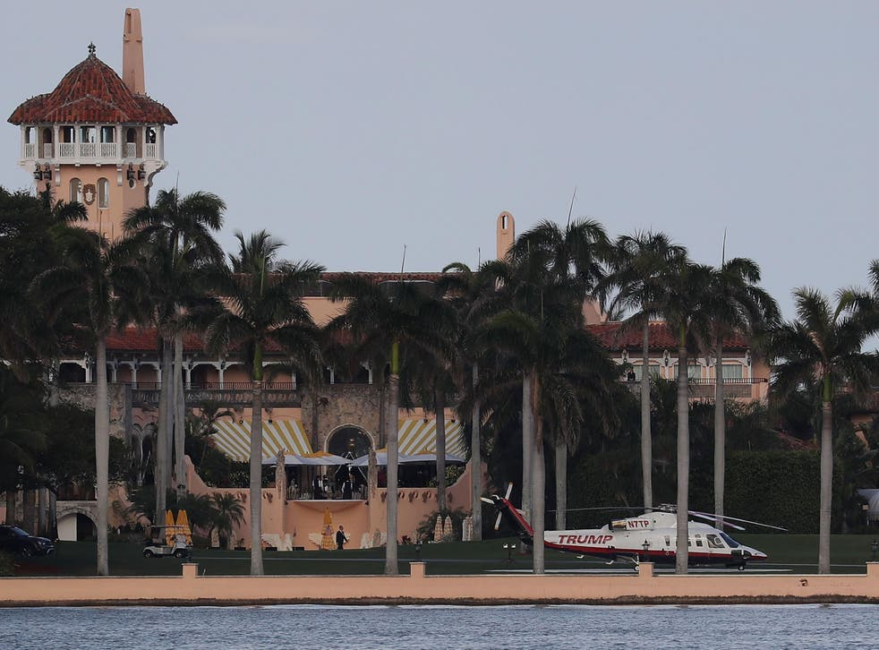 Irma potentially threatens Donald Trump's infamous Mar-a-Lago club and three of his golf courses
