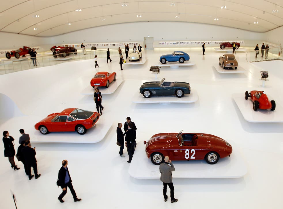 Time travel: the Ferrari museum in Modena has all the classics