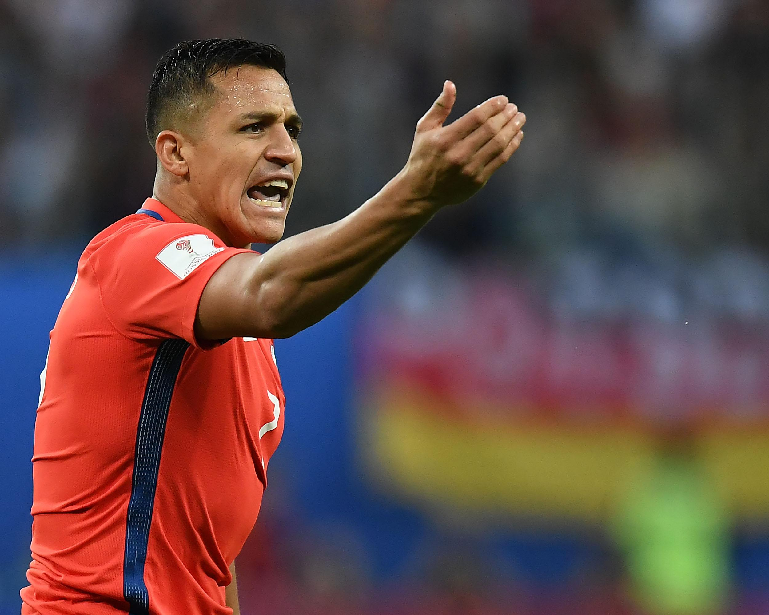 50,000 Chile fans set to protest against Alexis Sanchez's girlfriend amid 'fatter than normal' claims