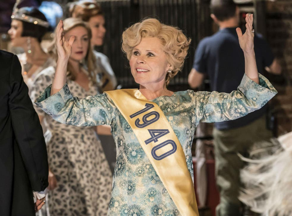 Imelda Staunton as Sally Durant Plummer in 'Follies' at the National Theatre