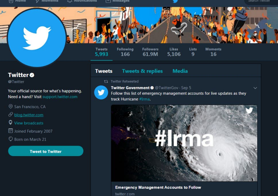 Twitter Night Mode: How to turn the website and app dark blue | The