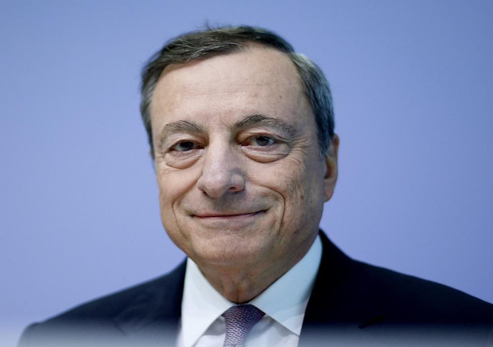 European Central Bank President warns over the euro's rapid