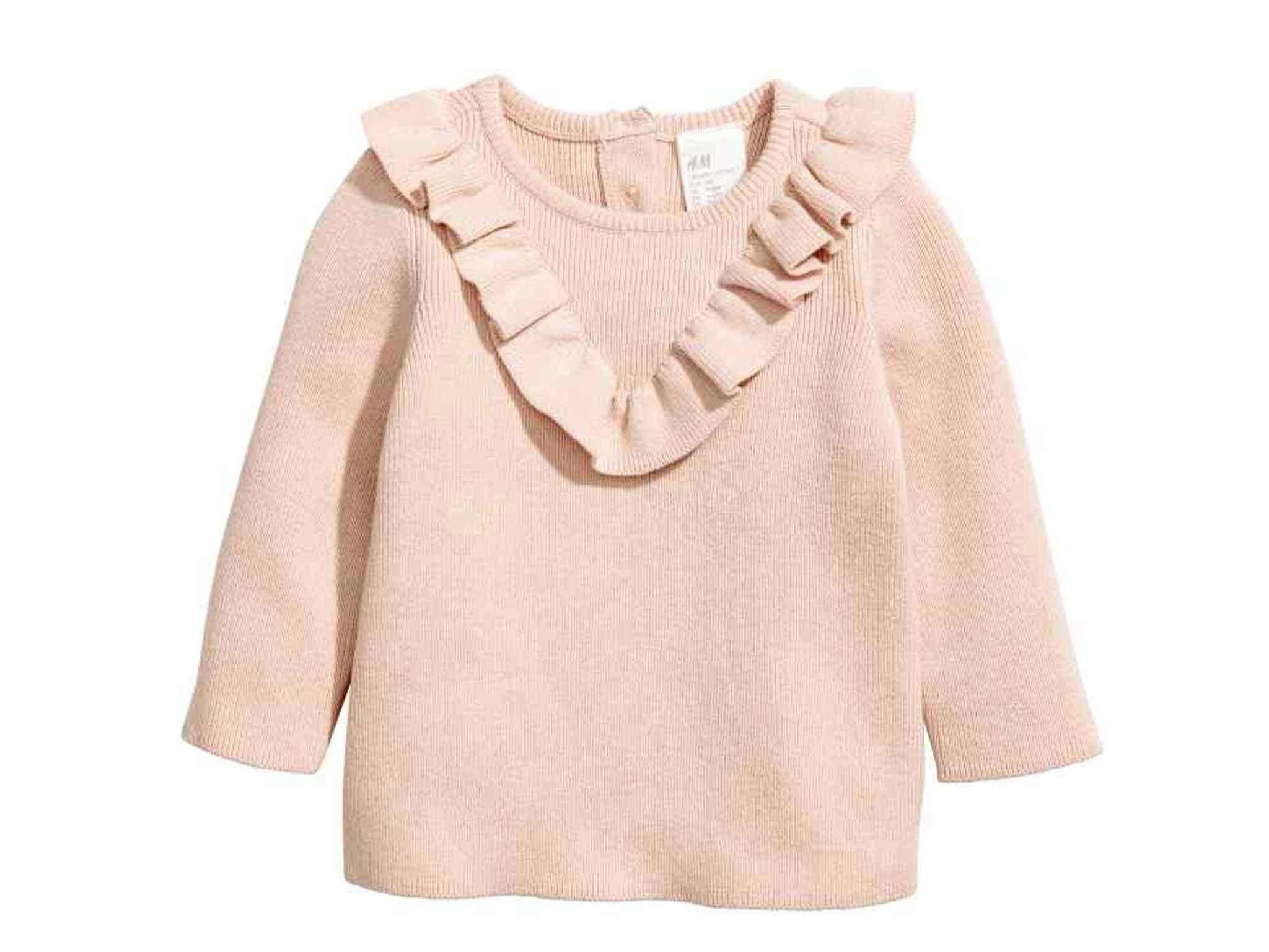 cb140f6f43a H M is known for its reasonably priced clothes and its kids  range is no  different. We like this dusky-pink