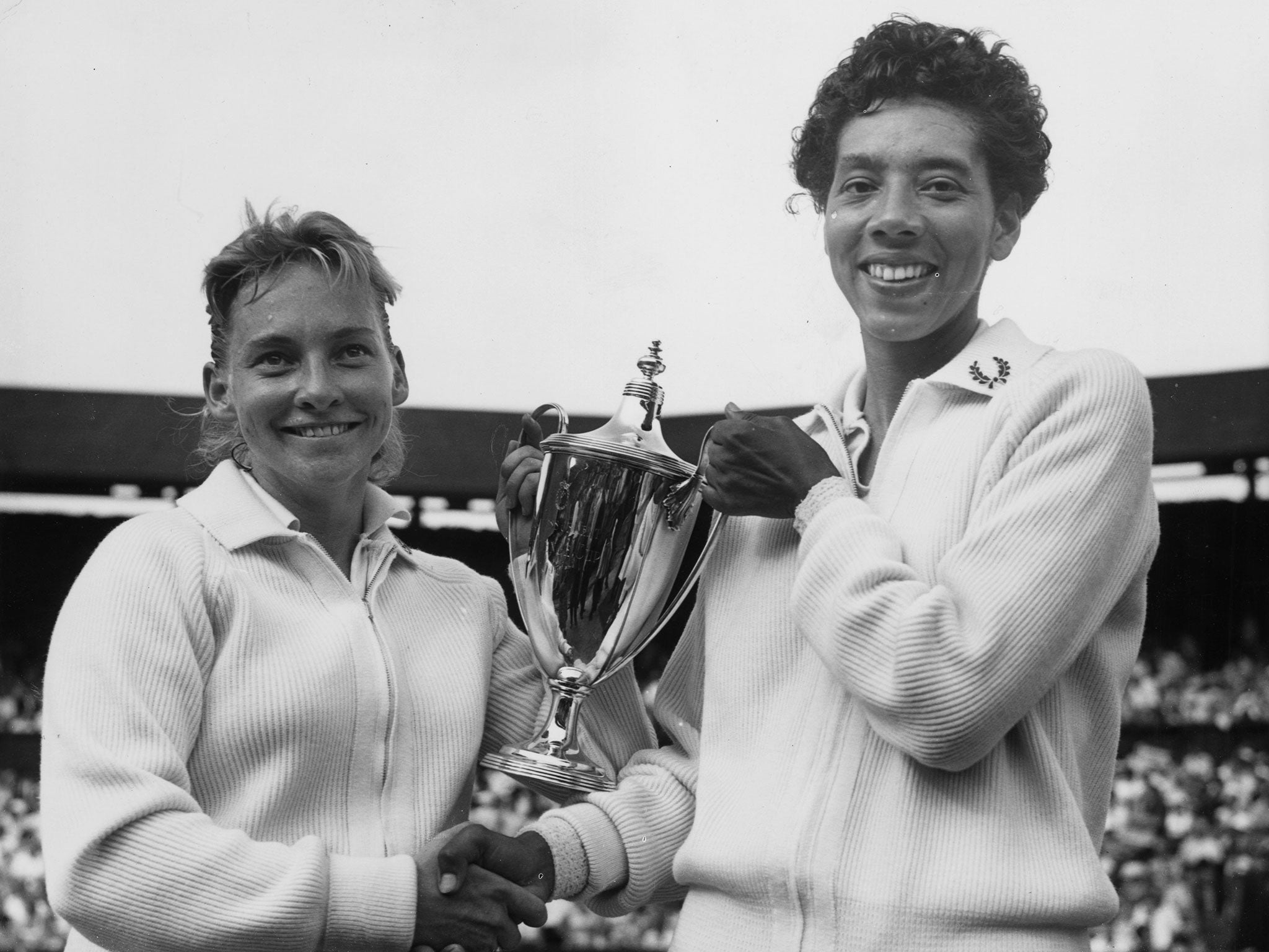 The story of Althea Gibson the first African American to win the