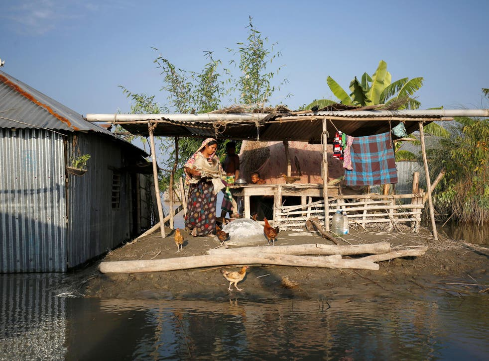 Around 13,000 people are ill with diarrhoea and respiratory infections in Bangladesh following the floods