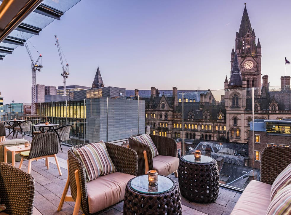Feeling fancy: Enjoy a side of spectacular views with your bottomless brunch
