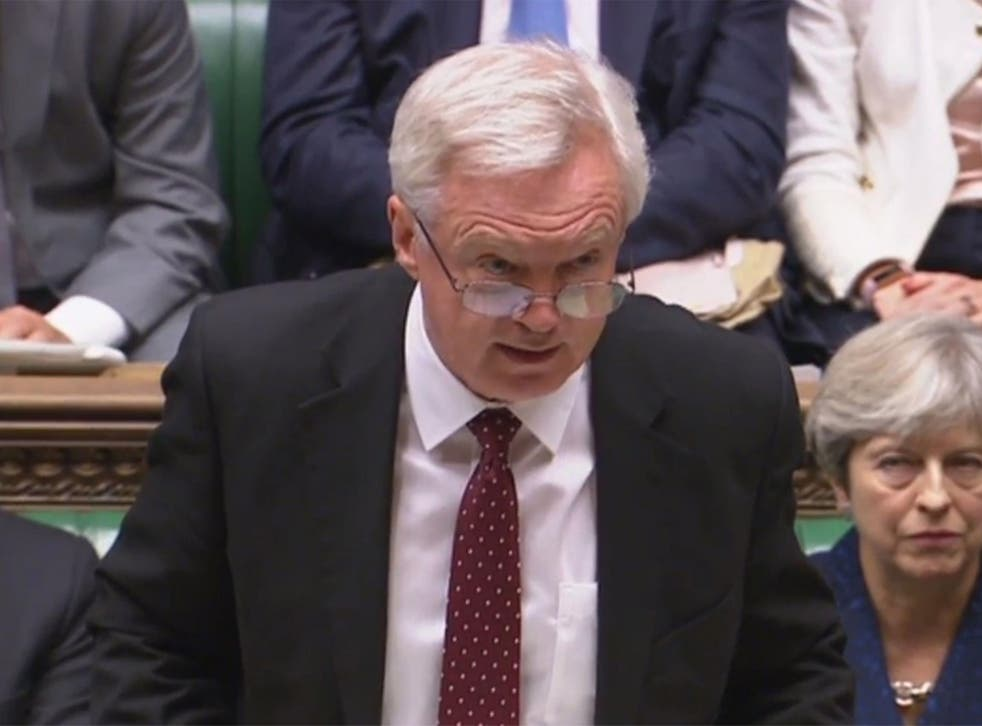 David Davis is right that the electorate did not vote for confusion – they've been let down by the Government