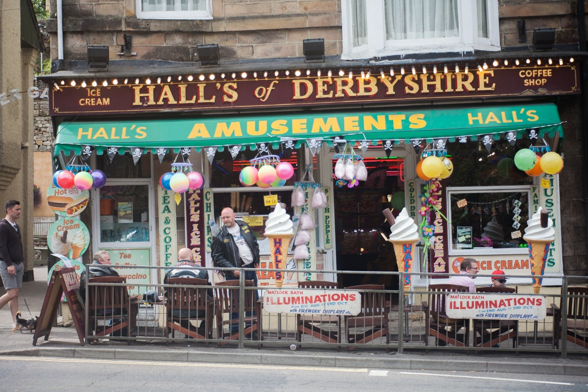 Matlock Illuminations Take A Trip To The Seaside In The