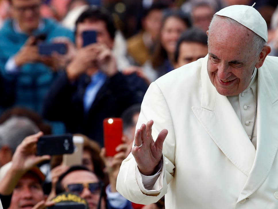 Pope francis calls for lords prayer to be changed as it implies god pope francis spoke about the lords prayer on italian tv fandeluxe Image collections