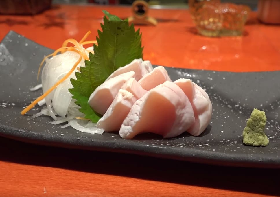Eat Chicken Sashimi At Your Own Risk Experts Warn The Independent